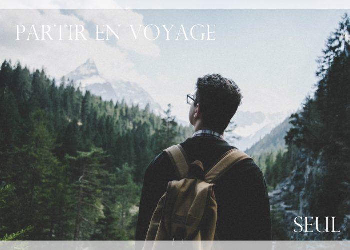 partir en voyage seul